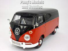 VW Bulli Bus 1963 t1 modello di auto 12 cm Classical Bus MODELLO BULLY Welly
