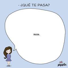 Esos nada que quieren decir mucho... #dibujodeldia #felizviernes #SanViernes #humor