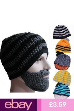 7b4806d0 #eBayHats Clothes, Shoes & Accessories Crochet Men, Crochet Beard Hat,  Crochet