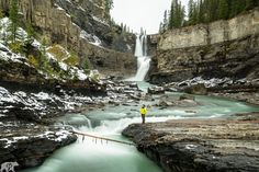 Today, just let your Wednesday stresses flow down the stream.  This photo is one of many new uploads on my website! Check them out at www.chrisburkard.com  #ChrisBurkard #ChrisBurkardPhotography #Alberta #Canada #Waterfalls #River #Stream #Flow