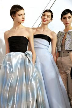 Christian Dior Spring 2013 Couture Fashion Show Beauty