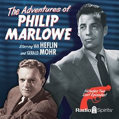 This was fun. I grew up listening to the radio, not TV. Van Heflin and Gerald Mohr each play the title role in these electric episodes, cracking wise with the of angry glee of a take-charge operative who careens, cajoles, shoves, shouts, and sometime shoots his way to a solution in his quest for a stolen object, a missing person, or a killer needing to be found. The Adventures of Philip Marlowe | [Raymond Chandler, Mel Dinelli, Gene Levitt, Bob Mitchell] #Audible