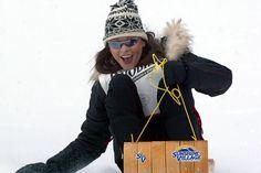 Katherine Zeta Jones #celebrity #ski #fashion