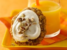 Carrot Cake-Oatmeal Cookies - another yummy looking recipe!