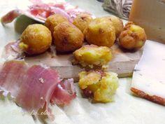 Le Crocchette Patate Prosciutto e Formaggio,sono sfiziosissimi e molto saporiti ho utilizzato due prodotti DOP Il Prosciutto Toscano e Formaggio Toscano
