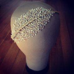 Kelly Spence Filigree Headband Bridal Headdress, Bridal Headpieces, Headpiece Wedding, Bridal Crown, Bridal Tiara, Tiara Hairstyles, Best Wedding Hairstyles, Vintage Wedding Hair, Wedding Hair Accessories