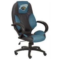 Jacksonville Jaguars Executive Leather Office Chair