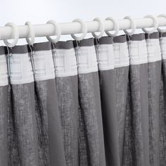 PORTION Anilla cortina con clip y gancho - tinte blanco - IKEA Curtain Rings With Clips, Curtains With Rings, Recycling, White Stain, Curtain Rods, Crochet, Wood, Design, Coastal