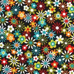 Michael Miller Flowers Aplenty Collection - Flowers Aplenty, 100% cotton