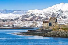 Eilean Donan, Britain, Ireland, Castle, Wales, Travel, Outdoor, Image, Photos