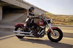 The Harley-Davidson Softail Slim has a ground-hugging 23.8-inch seat height and since seat height is most important to woman when buying a motorcycle, the Slim gives many women, especially those shorter than 5-feet-5, the ability to plant both feet on the groundtop 10 motorcycles women ride harley davidson softail slim