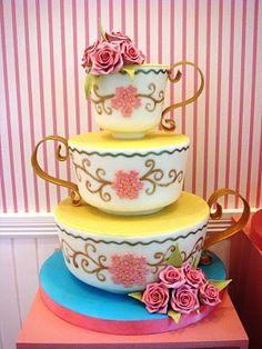 tea cup cake ~ is it it cupcake?