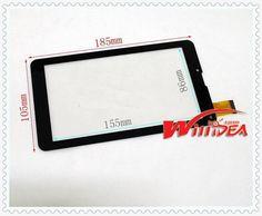 Планшет жк и панели бесплатная доставка 3 шт./лот FM707101KD KE кс 7 дюймов FM707101 сенсорный экран tp FM707101 емкостный экран 707101KD