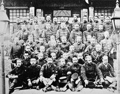 Japanese soldiers of the Sino Japanese War 1895. This Day in History: Aug 1, 1894: First Sino–Japanese War Starts