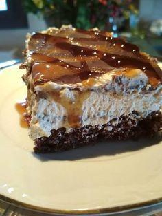 Μία απίθανη τούρτα που θα ενθουσιάσει μικρούς και μεγάλους! Αρχίζουμε: Υλικά παντεσπάνι 6 αυγά 6 κ.σ. ζάχαρη 6 κ.σ. αλεύρι γ.ο.χ. 4 κ.σ. κακάο 4 κ.σ. ηλιέλαιο 1 φακελάκι baking powder Λίγο ξύσμα πορτοκαλιού  Σιρόπι 250 γρ ζάχαρη 200 ml νερό Λίγο χυμό πορτοκάλι  Κρέμα Μία φυτική κρέμα μεγάλη 1 κουτί Greek Sweets, Greek Desserts, Party Desserts, Sweets Recipes, Cake Recipes, Food Network Recipes, Food Processor Recipes, Sweets Cake, Sweet And Salty