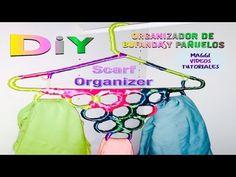 Como hacer Organizador de Bufanda y Pañuelos