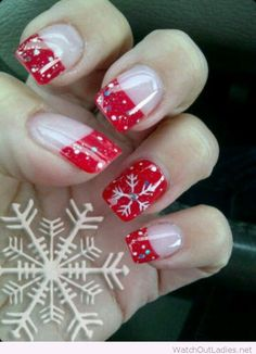 You should prepare your Christmas nail art designs ideas, before Christmas has been and gone!A neat manicure with festive designs can really lift your spirits throughout the season. Christmas Gel Nails, Holiday Nail Art, Christmas Nail Designs, Halloween Nail Designs, Cute Nail Designs, Acrylic Nail Designs, Halloween Nails, Acrylic Nails, Creepy Halloween