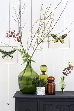 Green is the new black, volgens House Doctor. Verkrijgbaar bij Woonfabriek in Villa ArenA. #plants #urbanjungle #greenliving #botanical #botanicalwonderland #groen #green