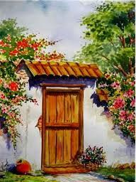 Costumbrista Landscape Designer: Watercolors Paintings Landscapes Painted in Watercolor … - Painting Watercolour Painting, Painting & Drawing, Drawing Drawing, Landscape Art, Landscape Paintings, Oil Paintings, Mexican Artwork, Mexico Art, Southwest Art