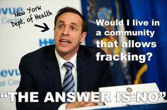 Breaking news: New York to ban fracking!