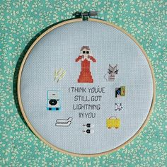 Suzys Favourite things - Cross Stitch Pattern Instant Download