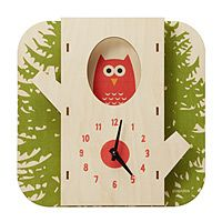 Owl Clock. If I owned a Cabot n this clock would be on one of the walls.