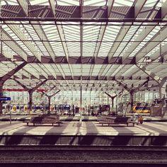 Rotterdam Central Station #architecture #rotterdam