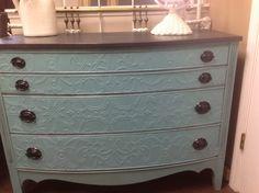Beautiful Dixie dresser reinvented