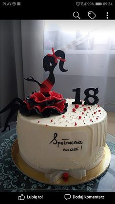 Best 12 Colourful flower cake with a female silhouette – Page 298715387781008374 – SkillOfKing.Com – SkillOfKing. 15th Birthday Cakes, Bithday Cake, Happy Birthday Cake Topper, Fancy Wedding Cakes, Wedding Cakes With Flowers, Flower Cake Toppers, Wedding Cake Toppers, Cupcake Cake Designs, Cupcake Cakes
