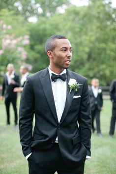 J.Crew Tux- Groom's look- Photo by Marta Locklear Photography