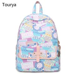 981afdcd8d MIWIND Women Backpack Preppy Style School Bags for Teenage Girls Printing Backpack  Fashion Leisure Laptop Travel Bags Rucksack 0