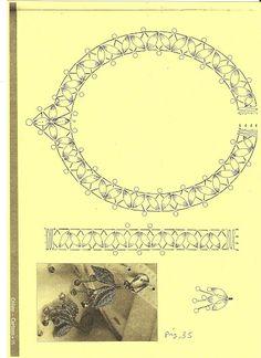 JOYAS DE BOLILLOS - Almu Martin - Álbumes web de Picasa Lace Necklace, Lace Jewelry, Bobbin Lace Patterns, Neckline Designs, Lacemaking, Lace Heart, Tatting Lace, Needle Lace, Lace Embroidery