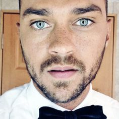 Jesse Williams. His cute freckles. So much perfection.
