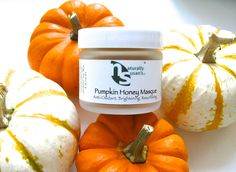 Our Newest Creation is an Innovation! Our Pumpkin Honey Masque is here! Rich in skin-softening and anti-aging vitamins A & C, nourish your skin with this #collagen boosting facial treat. Great for sensitive, acne prone and environmentally damaged skin, naturally exfoliating enzymes (AHAs) smooth skin's surface reducing fine lines, brighten dull complexions, and promote skin cell regeneration as skin-healing zinc keeps skin clear.