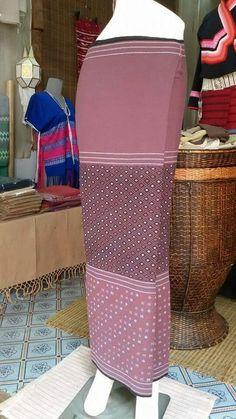 Silk Skirt, Silk Dress, Thai Thai, Thai Traditional Dress, Thai Dress, Batik Dress, Kebaya, Tribal Art, Asian Fashion