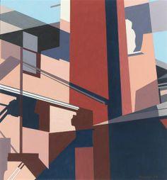 Charles Sheeler - Ballarvale Revisited (1949)