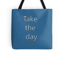 """""""Penpals Podcast: Take the day - Jack Phillips"""" by Caroline Brennan Ted, Reusable Tote Bags"""