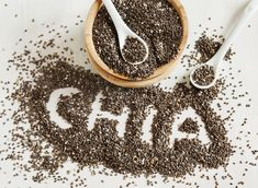 Chia seeds are certainly better than eggs and oil. By mixing one part chia seeds. Chia seeds are c Healthy Breakfast Recipes, Healthy Recipes, Yummy Recipes, Salvia Hispanica, Chia Benefits, Health Benefits, Psyllium, Chia Puding, Best Superfoods