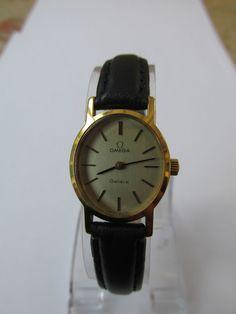 Vintage ladies gold Omega Geneve cocktail/dress watch (fully serviced) #Omega
