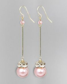 Pearl Wand Earrings