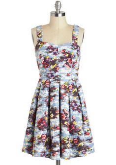 Lakeside Portrait Dress, #ModCloth