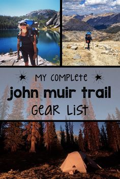 Planning a long-distance backpacking trip? This complete John Muir Trail gear list includes all of the camping gear, clothes & hiking essentials you need. Thru Hiking, Camping And Hiking, Hiking Trails, Outdoor Camping, Backpacking Tips, Hiking Gear, Camping Packing, Camping Gear, Camping Hammock