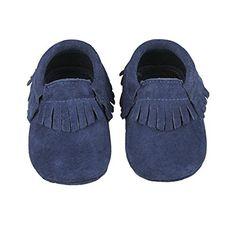 Nasbach Chaussures Souples Bébé Chaussons Enfant Unisex En Cuir Doux Bleu  Marine Xl 18-24 Mois  Amazon.fr  Bébés   Puériculture bf9a2d4d8216