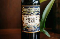 Stumptown Raises the Bar Yet Again with Grand Cru Gesha Cold Brew Coffee Origin, Cold Brew, Coffee Bottle, Barista, Brewing, Brow Bar, Baristas