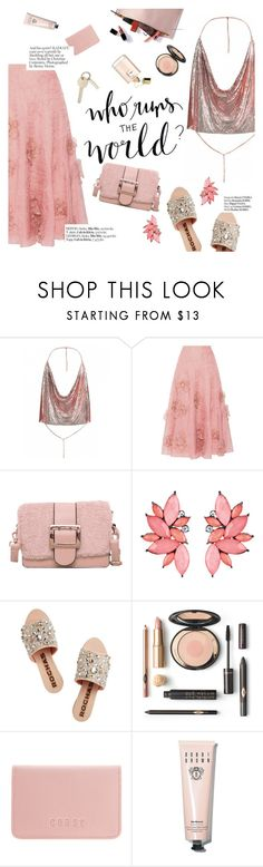 """""""#PolyPresents: Party Dresses"""" by punnky ❤ liked on Polyvore featuring Roksanda, Rochas, Haute Hippie, Coast, Bobbi Brown Cosmetics, contestentry and polyPresents"""