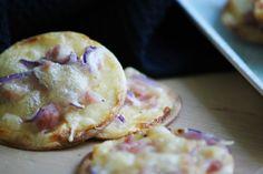 [Lets cook together] - Mini Flammkuchen - papiliomaackii.blogspot.de