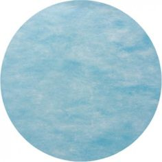 Set de table rond intissé bleu ciel les 50, sets de table bleu ciel, déco de table