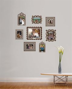 @rosenberryrooms is offering $20 OFF your purchase! Share the news and save!  Brown Wall Sticker Frame Set #rosenberryrooms
