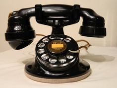Antiguo modelo de teléfono