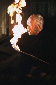 Lou David in The Burning 1980s Horror Movies, New York Summer, Burns, Zombies, Popcorn, Soda, Cinema, David